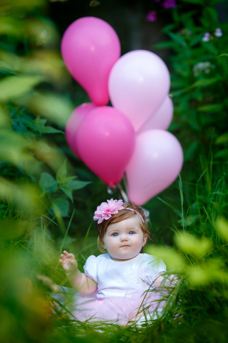 Baby-Outdoor Fotoshooting